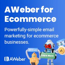 AWeber for Ecommerce