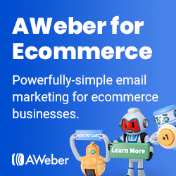 AWeber for Ecommerce