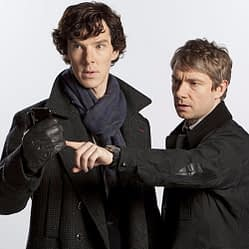 "Dr. Watson is a blogger and Holmes loves text messaging in the BBC's modern-day ""Sherlock"" series."