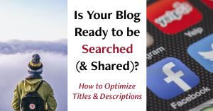 How to Optimize Blog Posts for SEO and Social Media | Writing for the Age of Lies - Randy Lyman