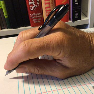 How to Hold a Pen (& Take the Pain Out of Writing, Literally) | Randy Lyman | Writer | SEO Specialist
